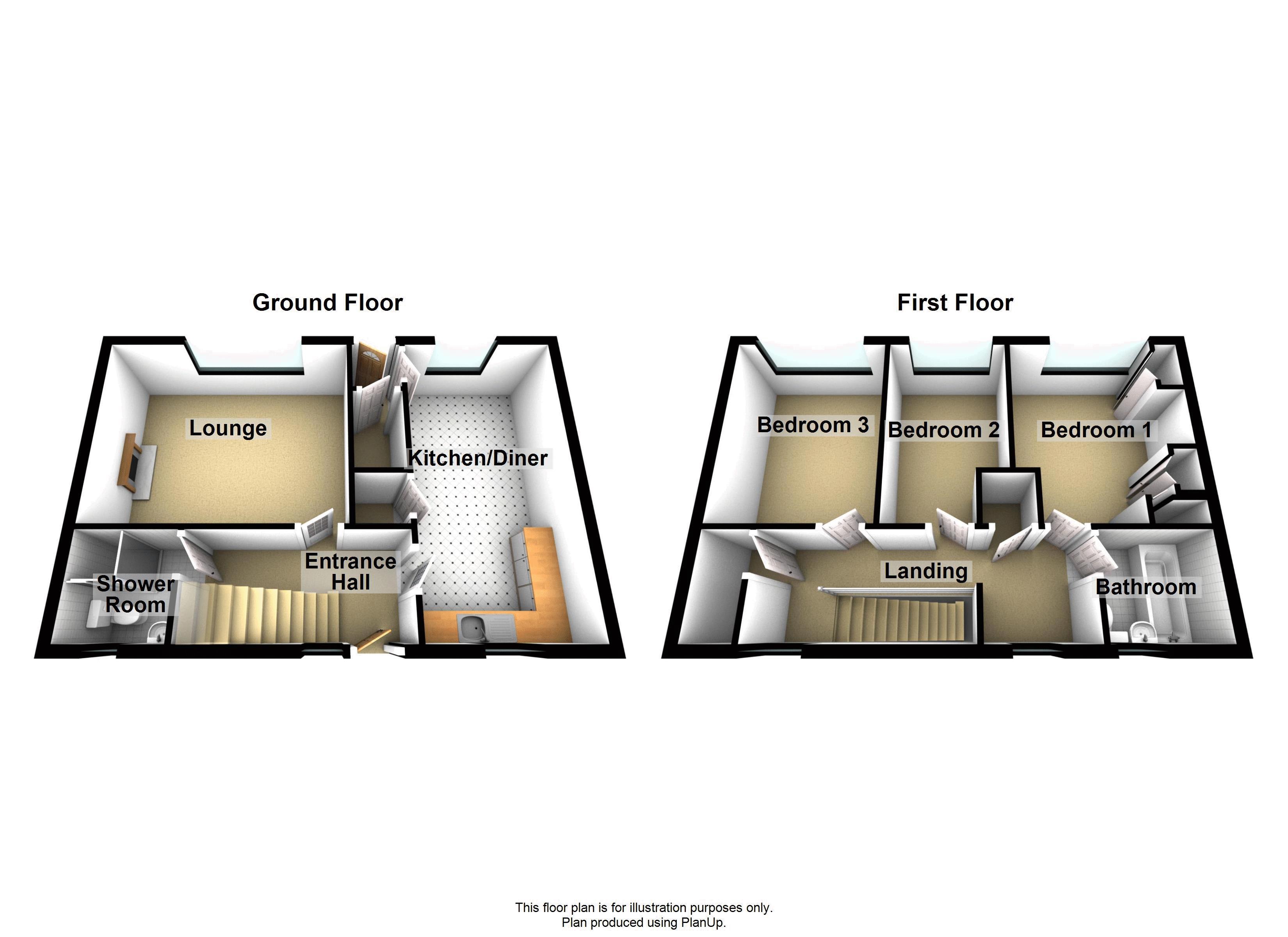 6 Caunce Road - Floorplan