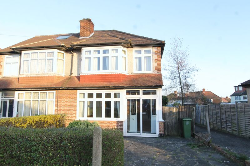 3 Bedrooms Semi Detached House for sale in Egham Crescent, Cheam