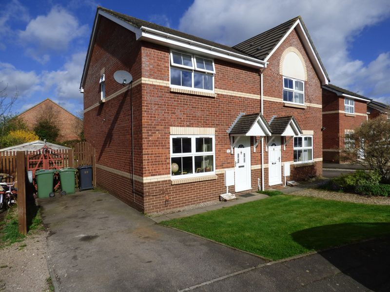 3 Bedrooms Semi Detached House for sale in Huntley Close, Gloucester