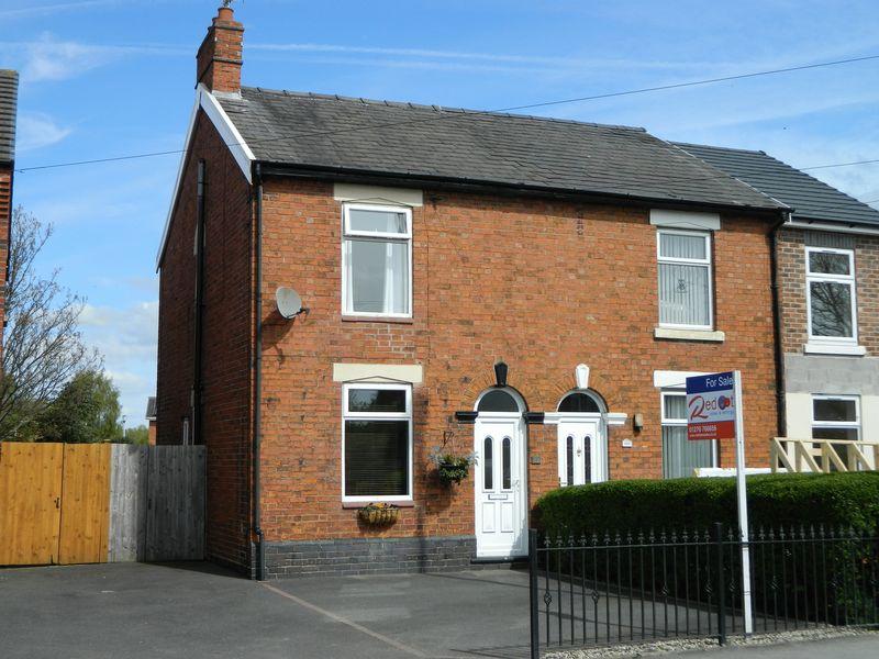 3 Bedrooms Semi Detached House for sale in Bradfield Road, Crewe