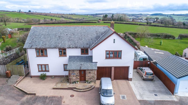 4 Bedrooms Detached House for sale in Partridge House, Lapford
