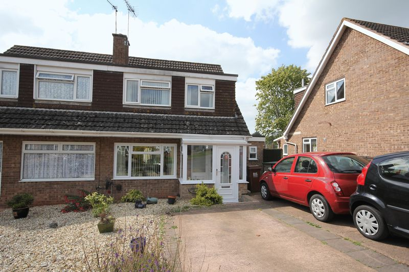 3 Bedrooms Semi Detached House for sale in Tuckers Meadow, Crediton