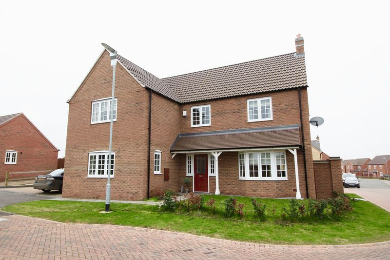 5 Bedrooms Detached House for sale in Hancock Drive, Bardney, Lincoln, LN3 5SR