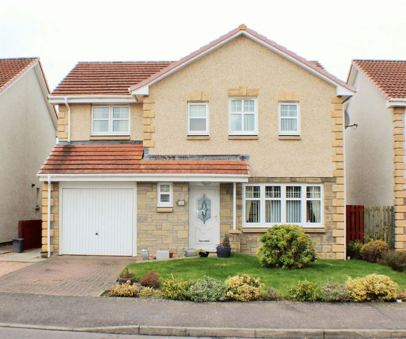 4 Bedrooms Detached House for sale in 16 Borthwick Place, Balmullo, St. Andrews KY16 0EB