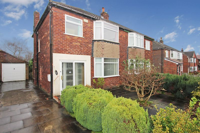 3 Bedrooms Semi Detached House for sale in West View Grove, Whitefield, Manchester M45