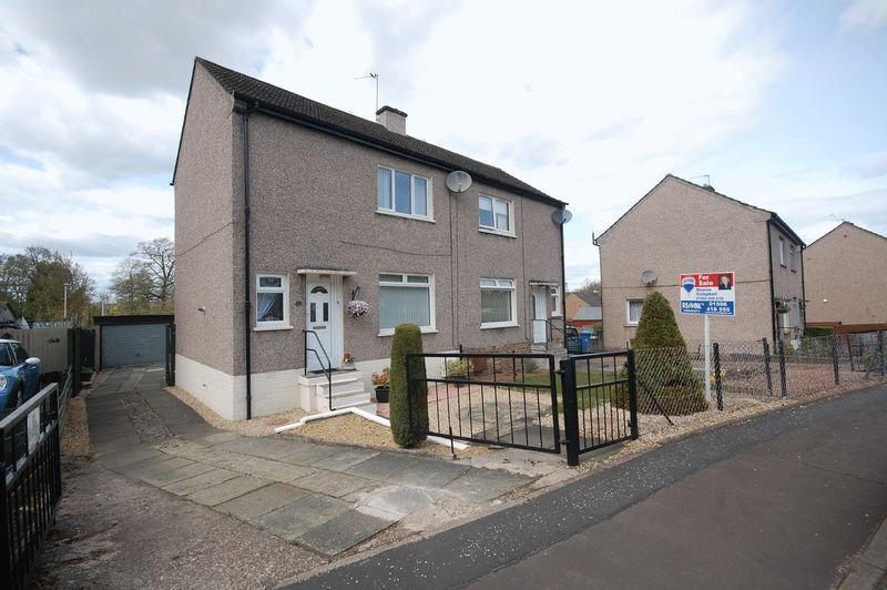 2 Bedrooms Semi Detached House for sale in Avenue Park, Mid Calder, EH53 0AQ
