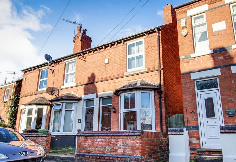2 Bedrooms Terraced House for sale in Wallis Street, Basford, Nottingham