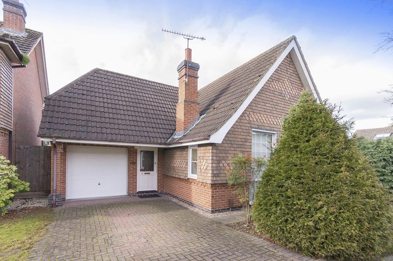 2 Bedrooms Detached Bungalow for sale in Courtland Gardens, Derby
