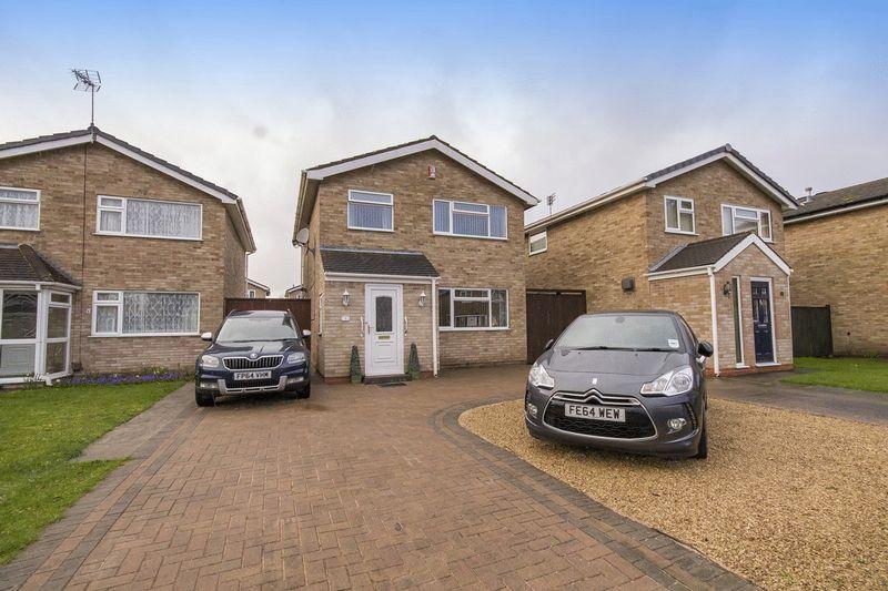 3 Bedrooms Detached House for sale in Heathcote Close, Alvaston