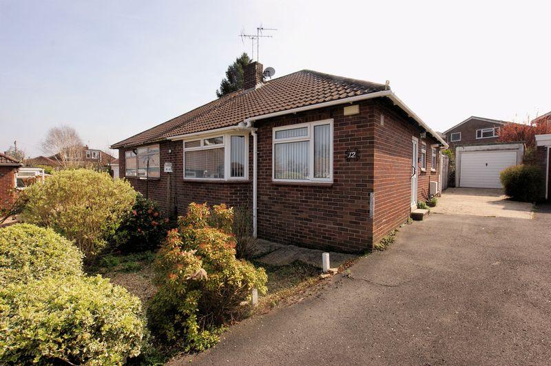 2 Bedrooms Semi Detached Bungalow for sale in Abbots Way, Fareham
