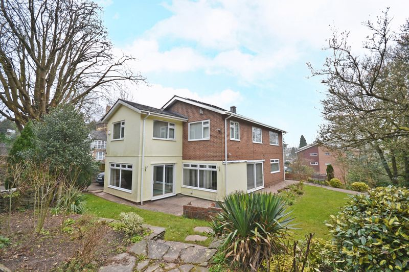 4 Bedrooms Detached House for sale in Outstanding Family House, Stow Park Crescent, Newport