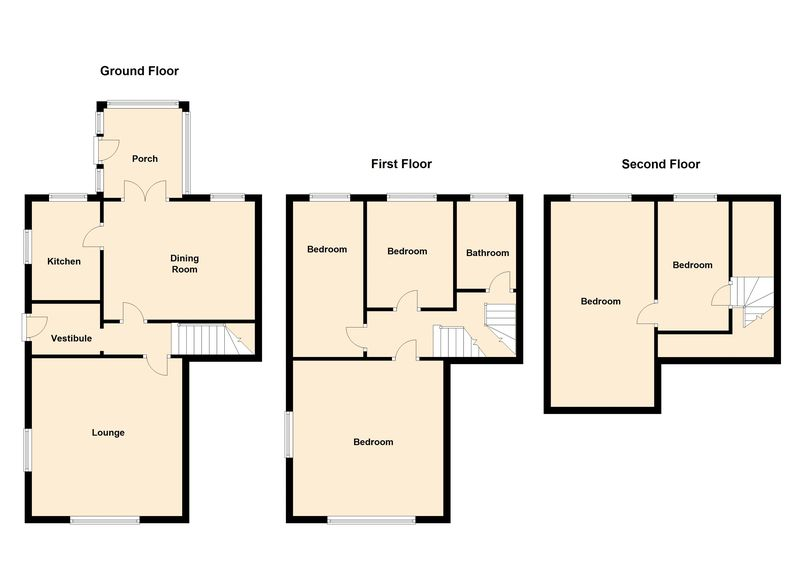 5 Bedrooms Semi Detached House for sale in Shawclough Road, Rochdale