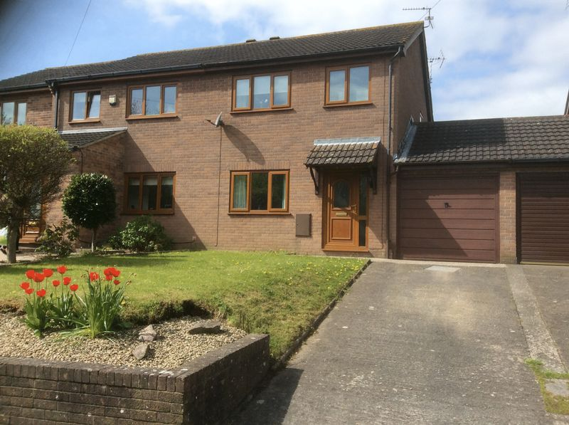 3 Bedrooms Semi Detached House for sale in Ebley Gardens, Caldicot