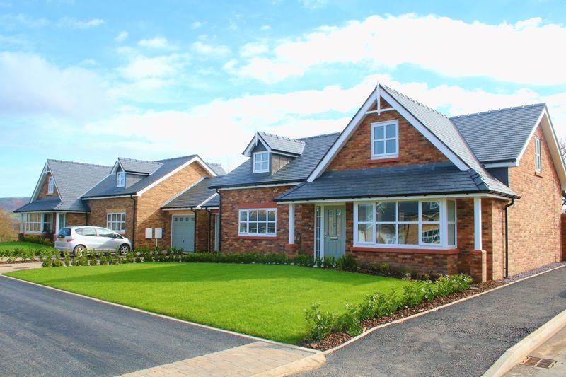4 Bedrooms Detached Bungalow for sale in New Development, Plot 44, Livingstone Place, St. Asaph