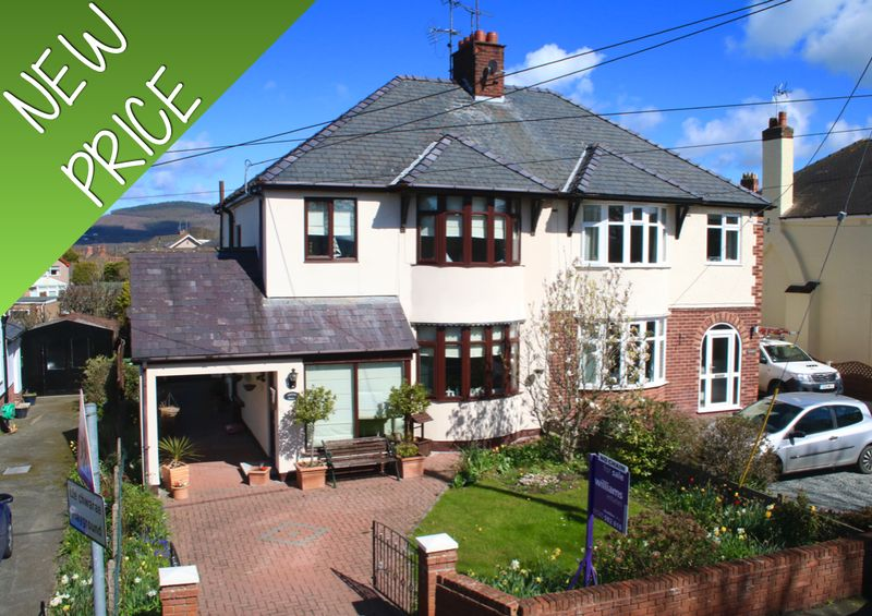 3 Bedrooms Semi Detached House for sale in Mount Road, St. Asaph