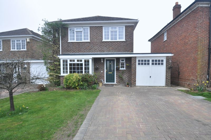 4 Bedrooms Detached House for sale in Gilbard Court, Chineham