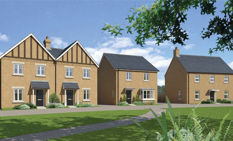 4 Bedrooms Detached House for sale in The Glympton - Plot 64, Downsview Park, Wantage