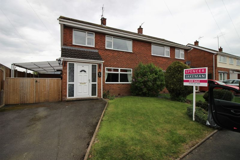 3 Bedrooms Semi Detached House for sale in 55 Westbury Road, Shrewsbury, SY1 3HT