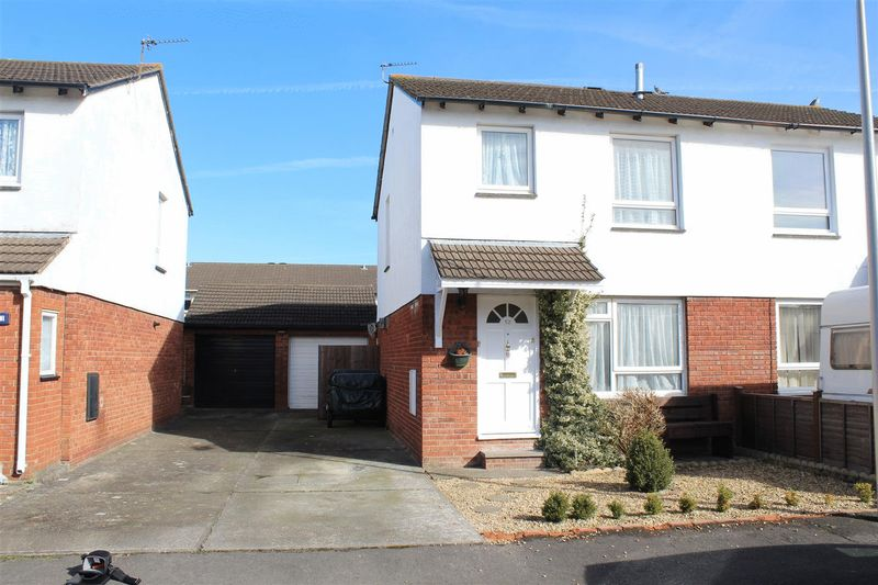 3 Bedrooms Semi Detached House for sale in Canterbury Close, Weston-Super-Mare