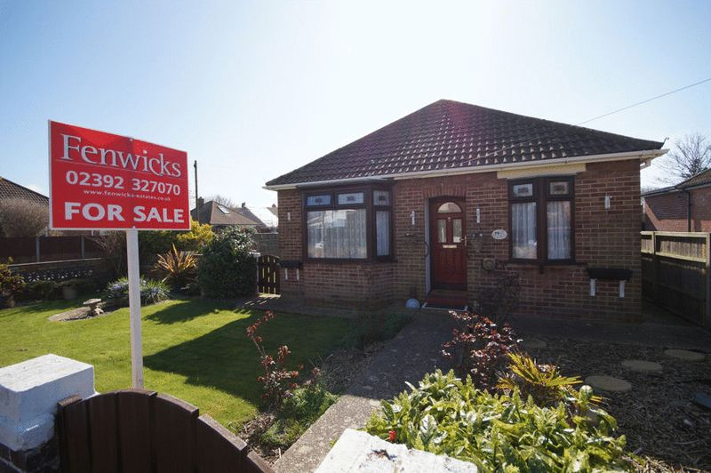 2 Bedrooms Detached Bungalow for sale in Windmill Grove, Fareham