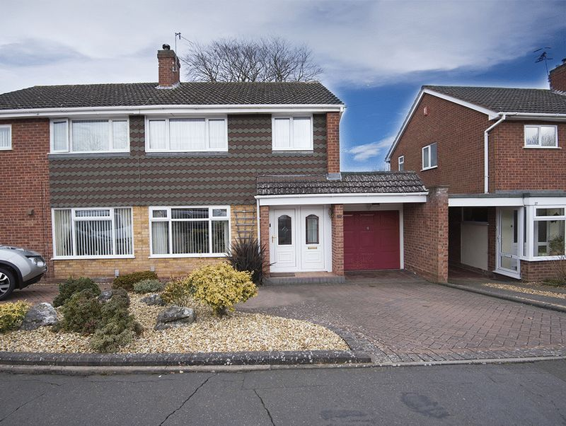 2 Bedrooms Semi Detached House for sale in Fernleigh Gardens, Wordsley