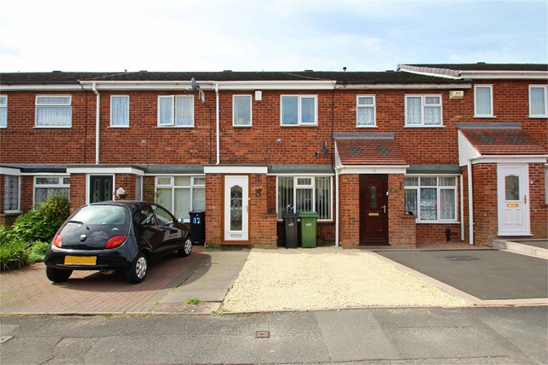 2 Bedrooms Terraced House for sale in Chichester Avenue, DUDLEY