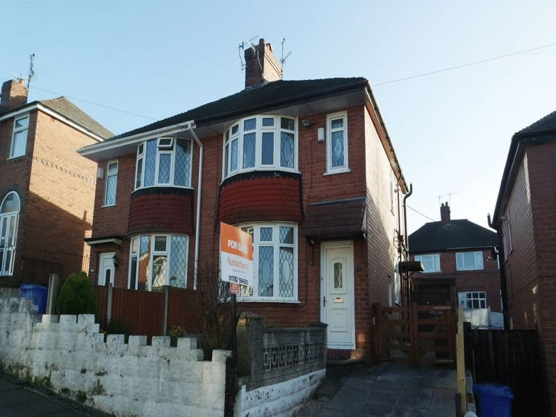 2 Bedrooms Semi Detached House for sale in Highfield Avenue, Meir, Stoke-On-Trent, ST3 5LZ