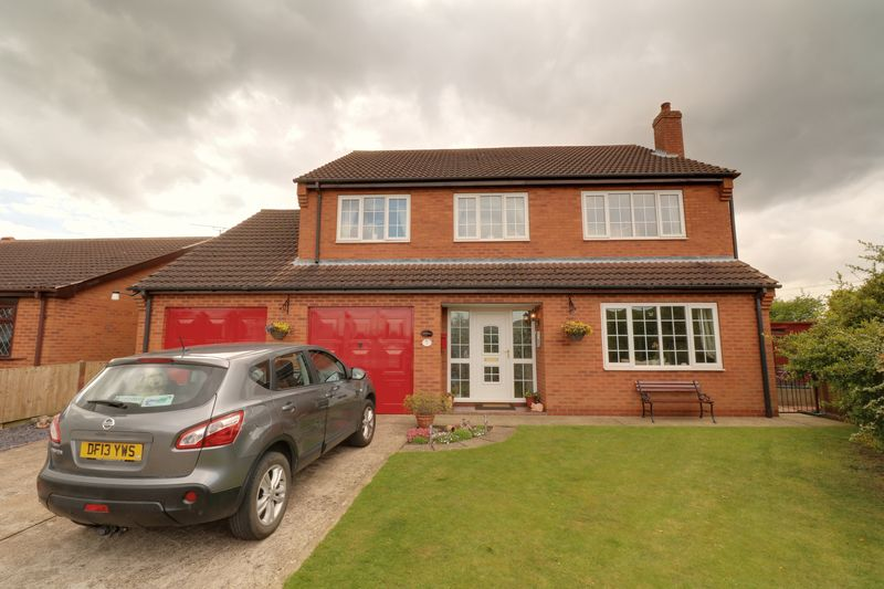 4 Bedrooms Detached House for sale in Traffords Way, Hibaldstow