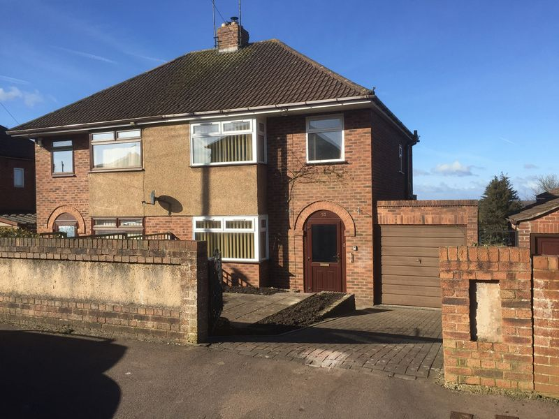 3 Bedrooms Semi Detached House for sale in Cinderford, Gloucestershire