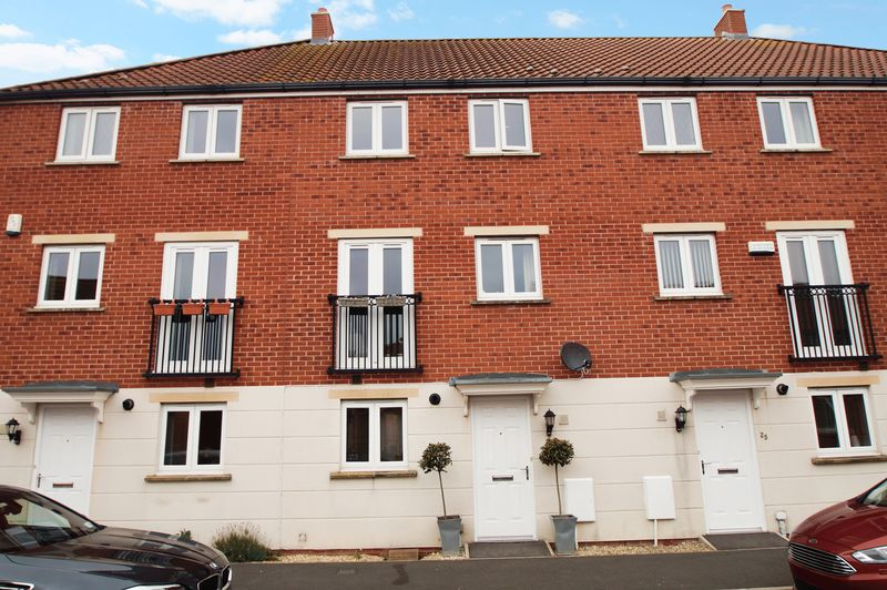 4 Bedrooms Terraced House for sale in Mulholland Way, Highbridge