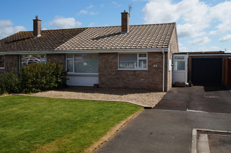 2 Bedrooms Semi Detached Bungalow for sale in Atyeo Close, Burnham-On-Sea