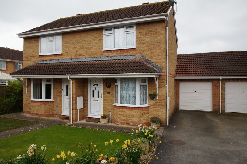 2 Bedrooms Semi Detached House for sale in Hatcher Close, Burnham-On-Sea