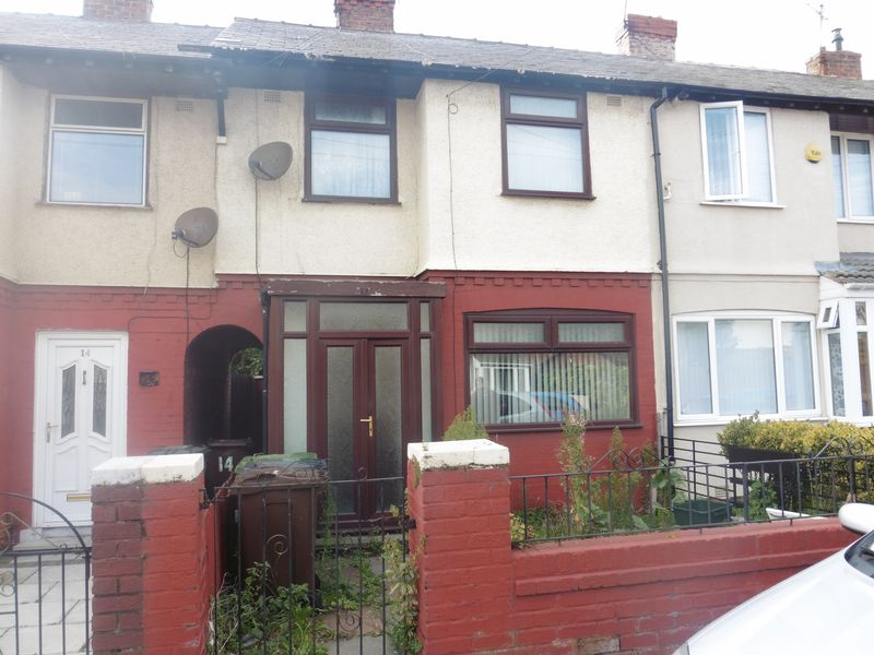 3 Bedrooms Terraced House for sale in Cookson Road, Liverpool