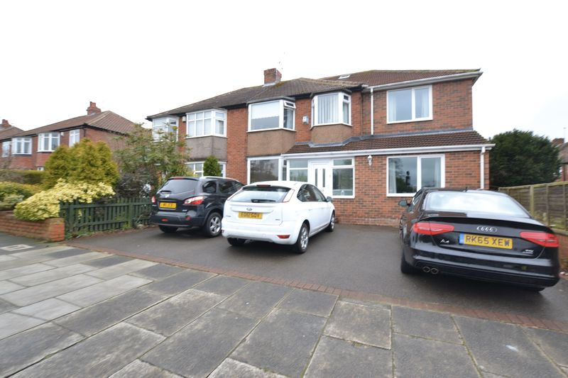 6 Bedrooms Semi Detached House for sale in Melville Grove, Newcastle Upon Tyne