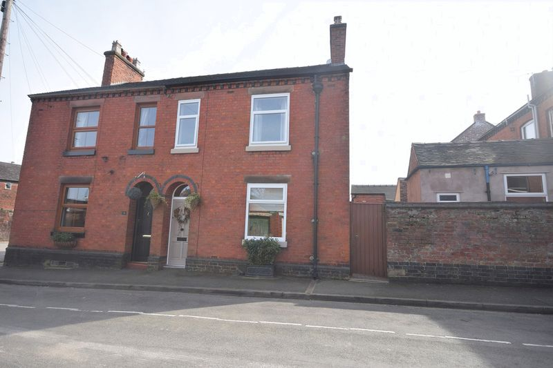 2 Bedrooms Semi Detached House for sale in Ford Street, Leek