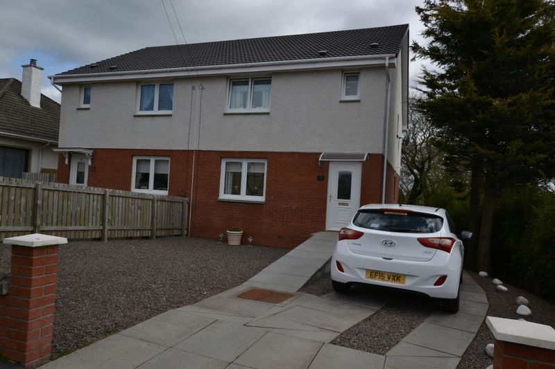 3 Bedrooms Semi Detached House for sale in Manse Road, Larkhall