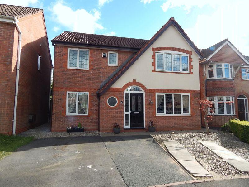 4 Bedrooms Detached House for sale in Allington Close, Walton le Dale, Preston