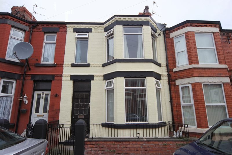 3 Bedrooms Terraced House for sale in Wordsworth Avenue, Rock Ferry, Wirral