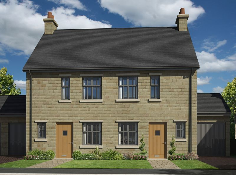 3 Bedrooms Semi Detached House for sale in Plots 28 - 31 The Kinder, Glossop