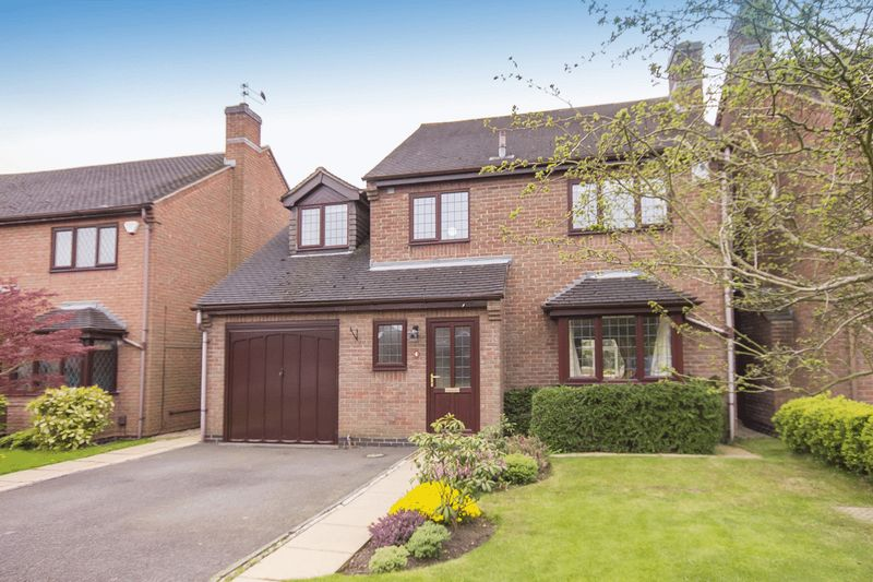 4 Bedrooms Detached House for sale in FULMAR CLOSE, MICKLEOVER