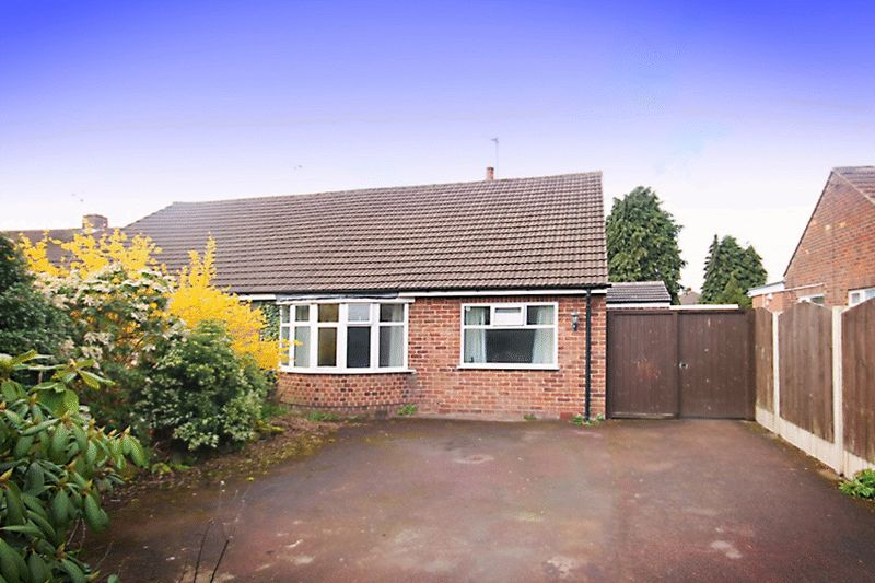 2 Bedrooms Semi Detached Bungalow for sale in BRISTOL DRIVE, MICKLEOVER