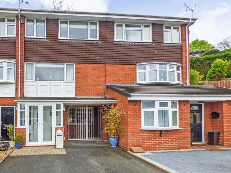 4 Bedrooms Terraced House for sale in Cann Hall Drive, Bridgnorth