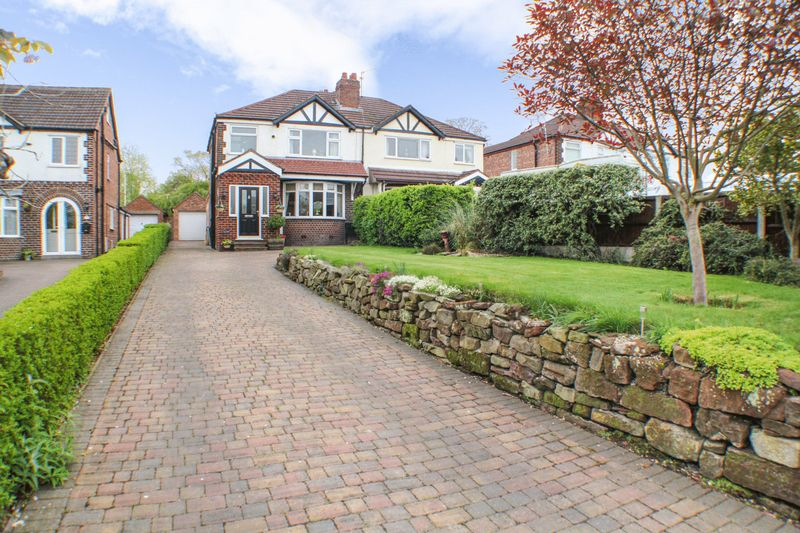 3 Bedrooms Semi Detached House for sale in Esthers Lane, Weaverham, Northwich