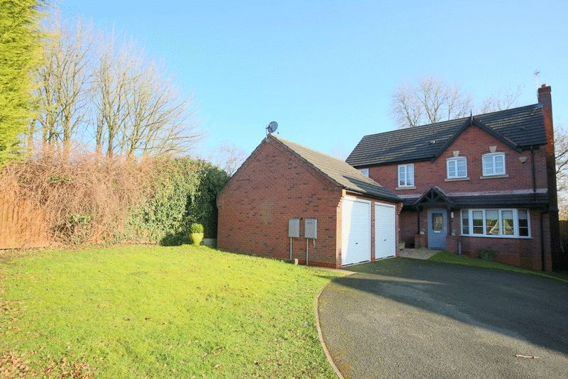 4 Bedrooms Detached House for sale in The Woodlands, Cold Meece, Stone