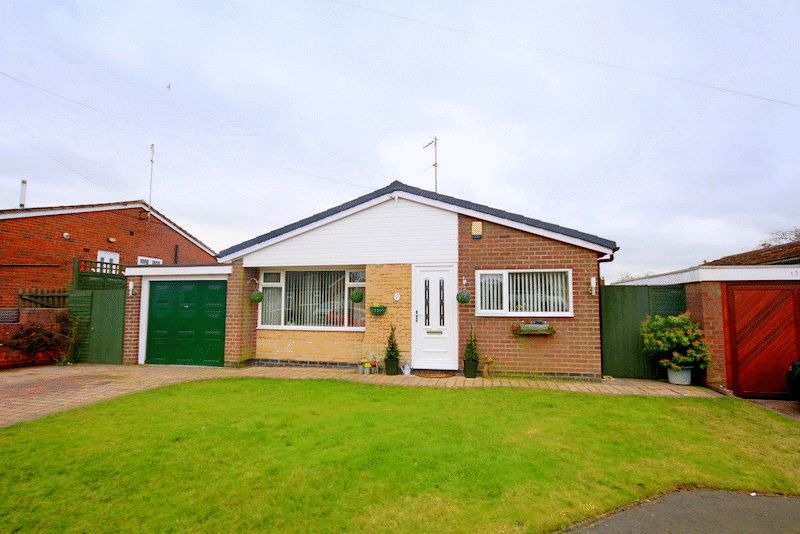 3 Bedrooms Detached Bungalow for sale in Acorn Close, Loggerheads, Market Drayton