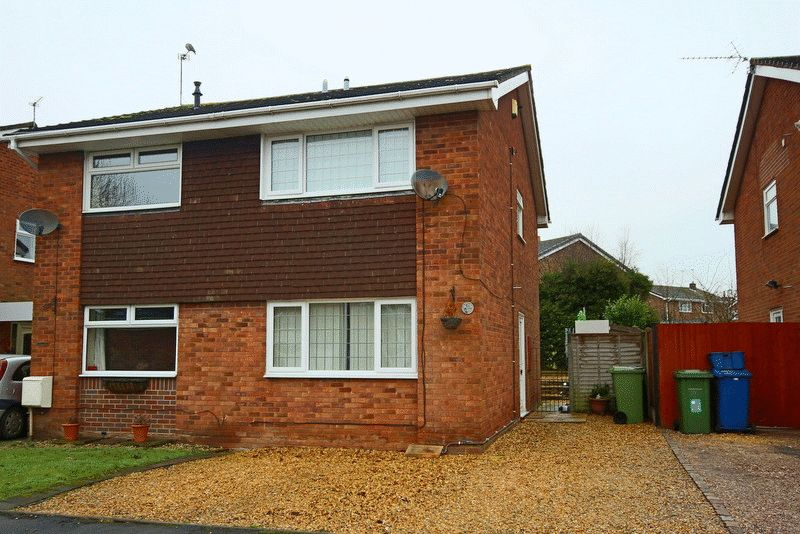 2 Bedrooms Semi Detached House for sale in Anchor Way, Gnosall, Stafford