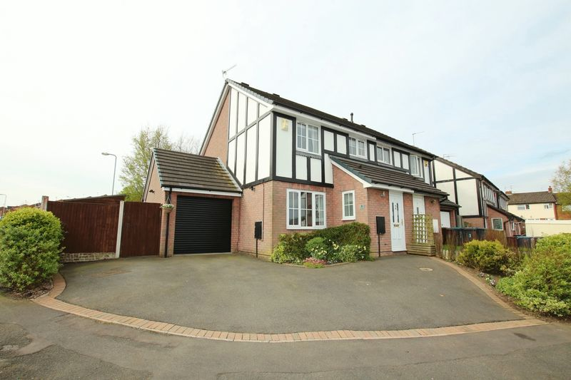 3 Bedrooms Semi Detached House for sale in Swallow Walk, Biddulph