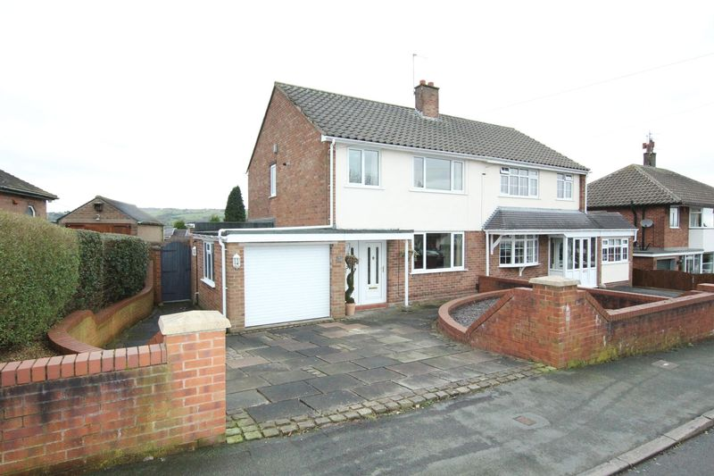 3 Bedrooms Semi Detached House for sale in Ox Hey Drive, Biddulph