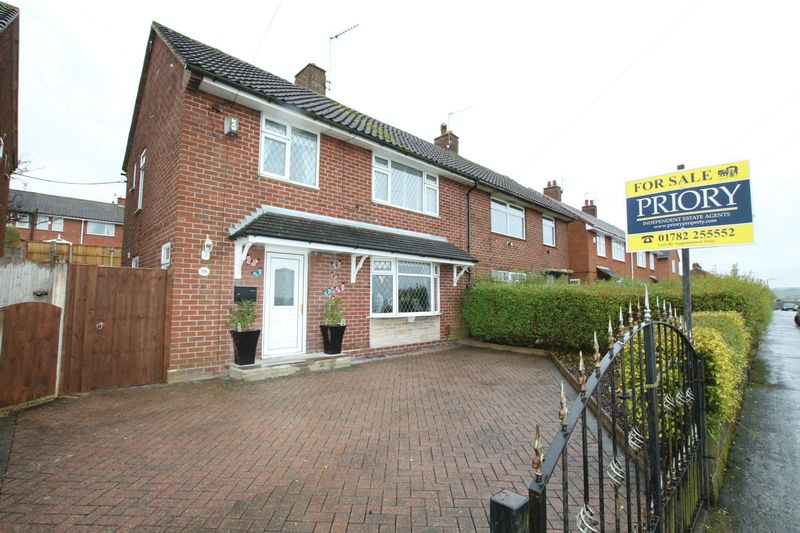 3 Bedrooms Semi Detached House for sale in Church Close, Biddulph