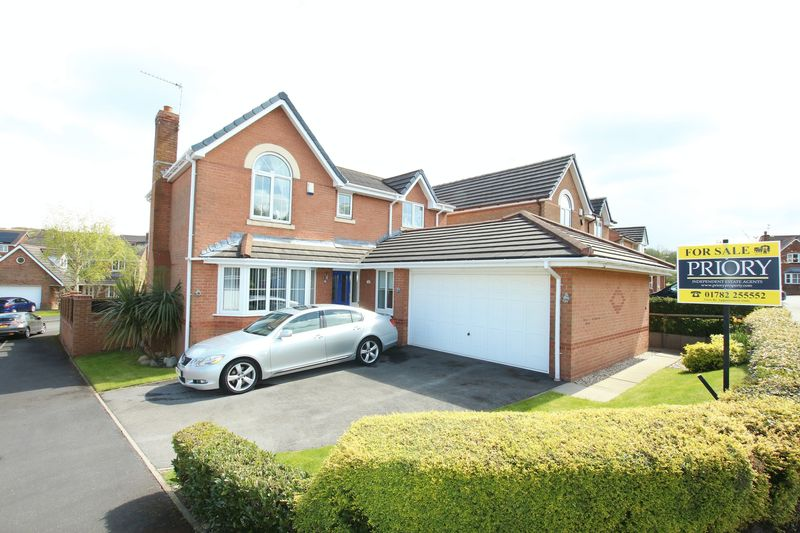 4 Bedrooms Detached House for sale in Dylan Road, Knypersley, Biddulph